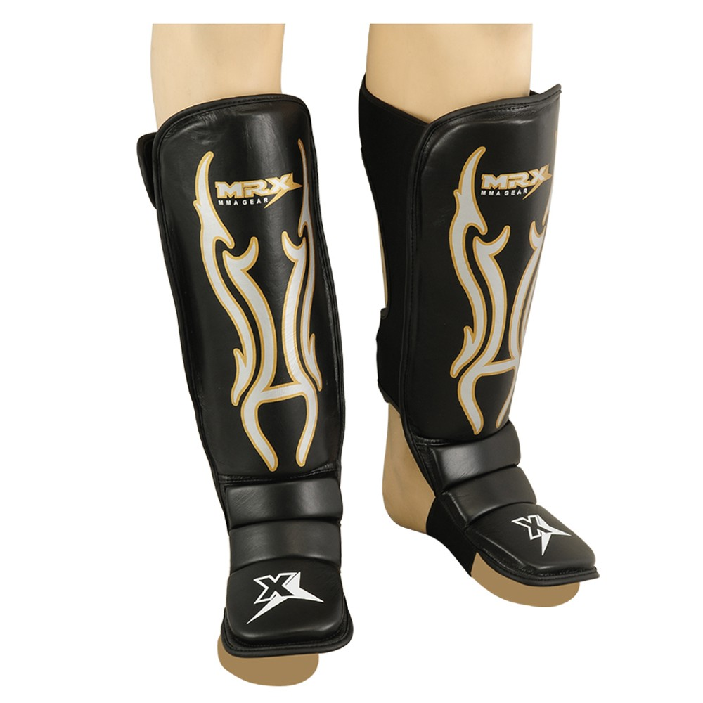 MRX COWHIDE LEATHER SHIN INSTEP PROTECTOR