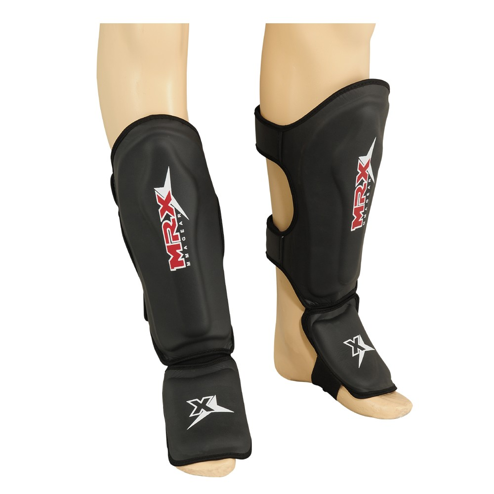 MRX SHIN INSTEP PAD PROTECTOR REX LEATHER