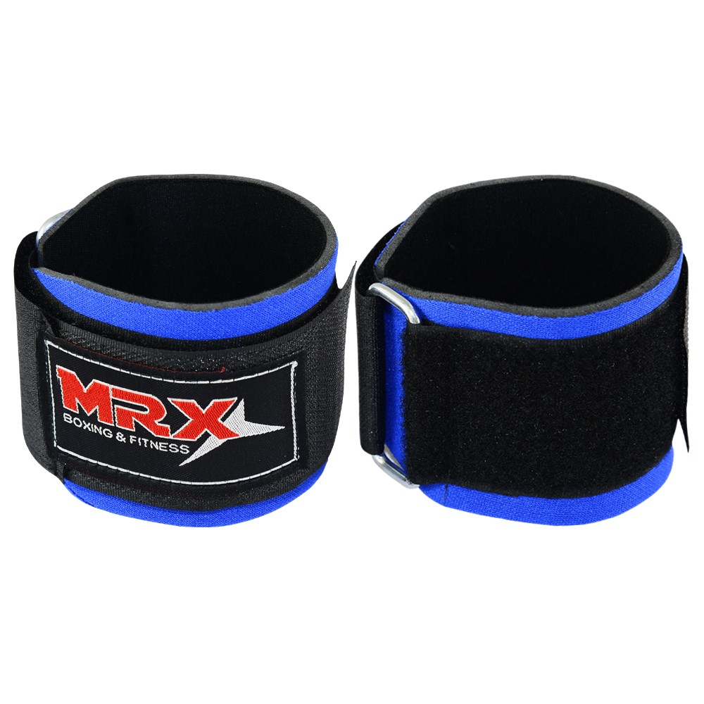 weight lifting wrist support strap blue