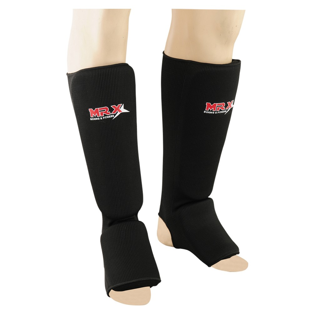 SHIN INSTEP GUARD PROTECTOR BLACK