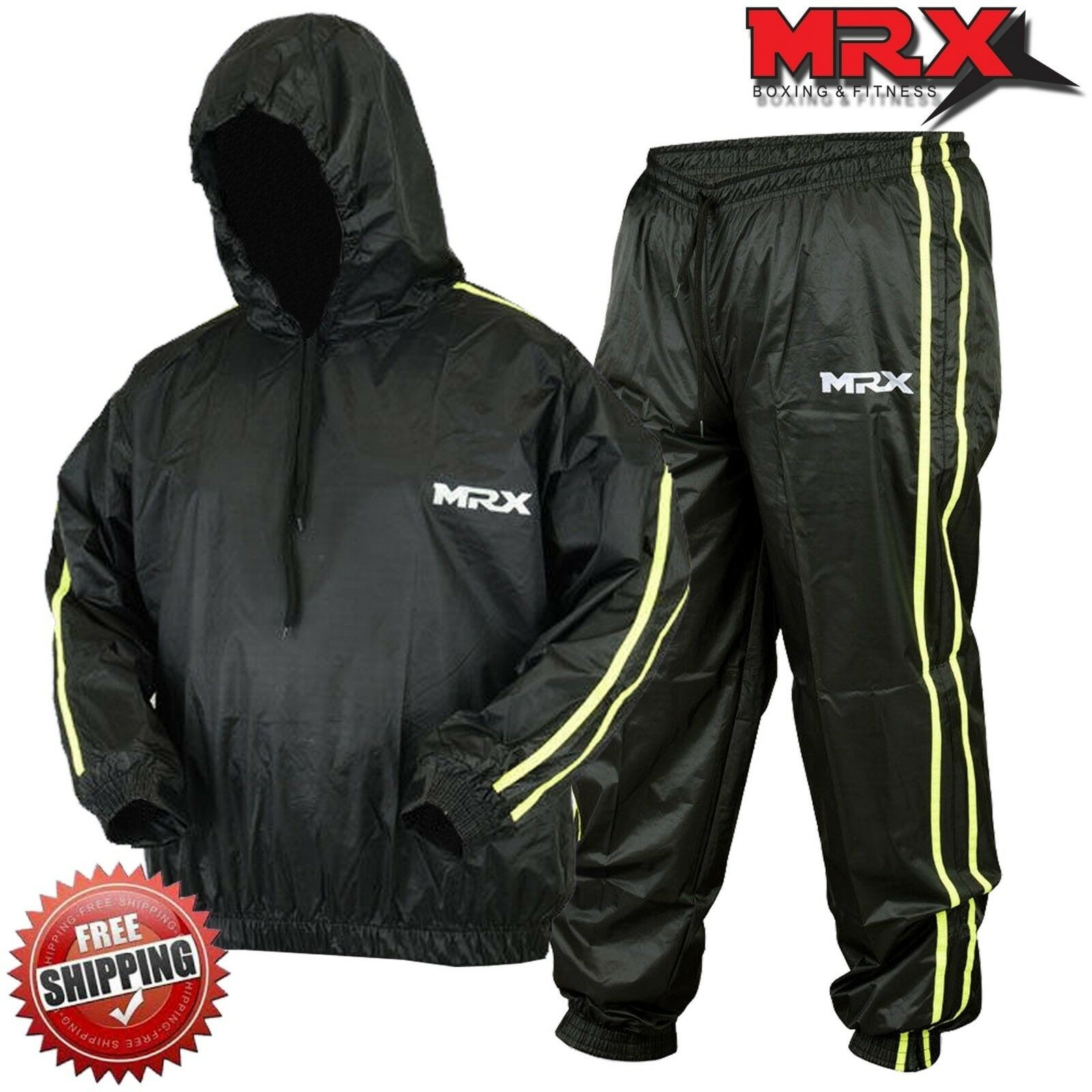 MRX Sauna Sweat Suit Weight Loss Slimming Fitness Suits